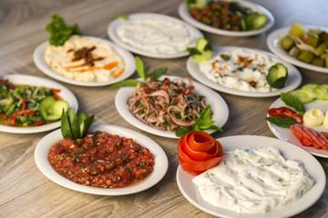 salad concept for restaurant.