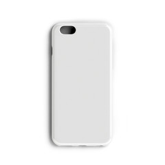 Blank Phone case on a white background