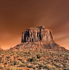 Wall Mural - Monument Valley Arizona Navajo Nation