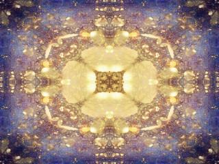 Symmetric Abstract Texture, Art Pattern