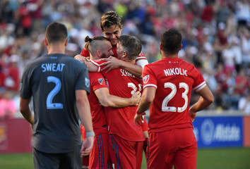 MLS: New York City FC at Chicago Fire