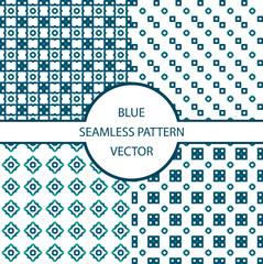 blue pattern seamless