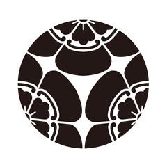 家紋 三つ盛り瓜