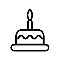 outline cake