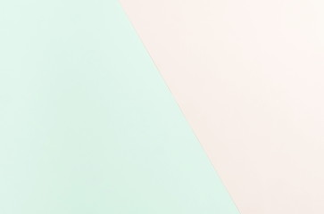 Abstract pastel colors pattern papers background. Minimal geometric fashion mock up background. Flat lay, Top view. Copy space