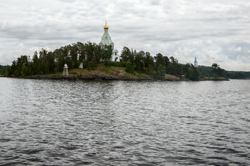 St. Nicholas monastery - Outpost of the island of Valaam. Valaam is a cozy and quiet piece of land, the rocky shores of which rise above the lush waters of lake Ladoga