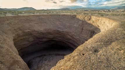The Devil's Throat Sinkhole, Gold BUtte National Monument