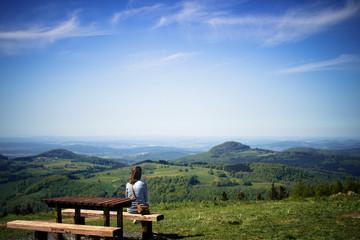 Panorama im Nationalpark Rhön