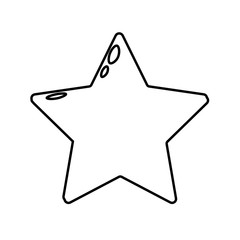 vector icon outline star
