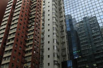 architecture et immeuble hong kong