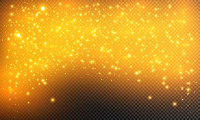 Glow light effect. Vector illustration. Christmas flash Concept.