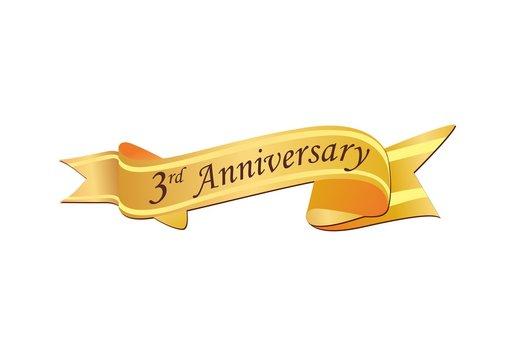 3rd Anniversary Logo