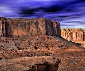 Wall Mural - Monument Valley Arizona Navajo Nation USA