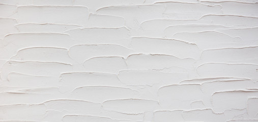 Grunge Decorative White Stucco Wall Texture