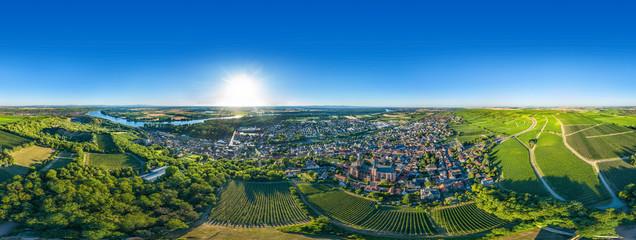 360° VR Luftbild Oppenheim am Rhein