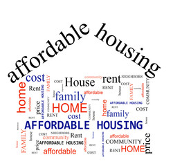 Affordable Housing concept