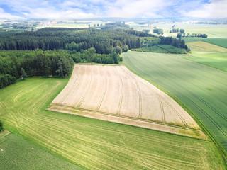 Feld Luftbild