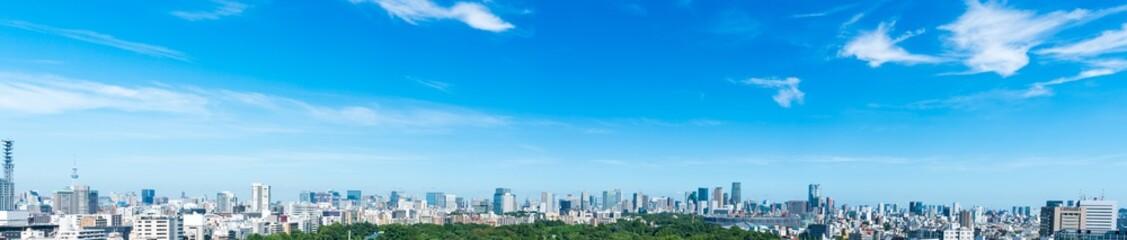 Photo sur Plexiglas Bleu 東京風景