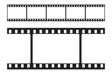 Movie strip. Illustratipn. Vector.