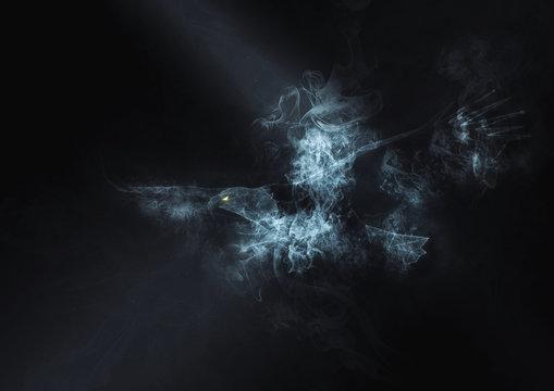 抽象的な鳥