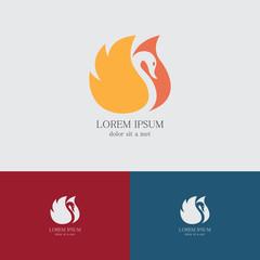 fire swan logo