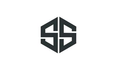 SS logo, polygon shape