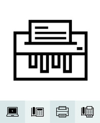 Office and Business icons with White Background