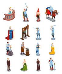 Medieval Isometric Icons