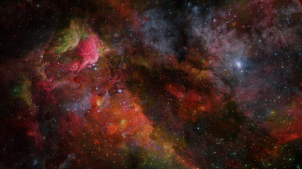 Nebula in space. Elements of this image furnished by NASA