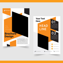 Business brochure,  flyer, cover design template.