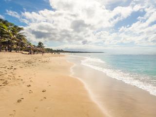 Karibik Strand playa Rancho Luna in kuba