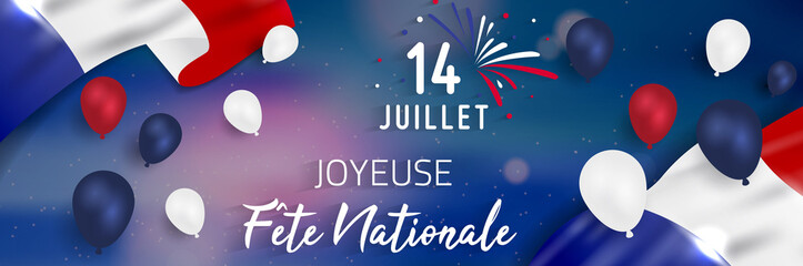 14 Juillet - Fête Nationale. 14 juillet en France - fete nationale.