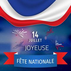 14 Juillet - Fête Nationale. 14 juillet en France - fete nationale.