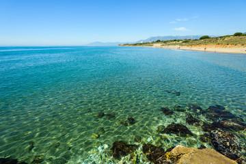 Playa de Cabo Pino, Marbella, Andalusia, Spain