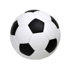 soccer ball on white
