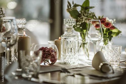 Tischdekoration Hochzeit Stock Photo And Royalty Free Images On