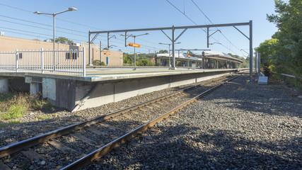 Aluminium Prints Train Station Sydney, train station