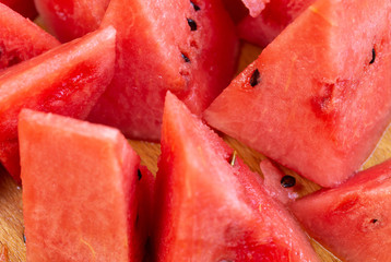 Close Up Of Sliced Watermelon 10