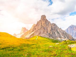 Passo Giau near Cortina d'Ampezzo, Dolomites, Italy