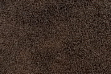 Natural brown leather texture.