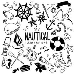 Nautical Illustration Pack