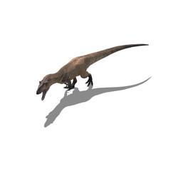 Allosaurus freigestellt
