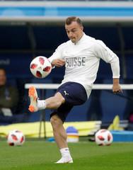 World Cup - Switzerland Training