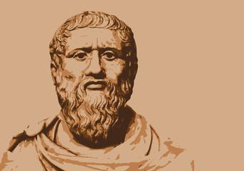 Platon - philosophe - portrait - grec - personnage célèbre - personnage - historique - Grèce - antique