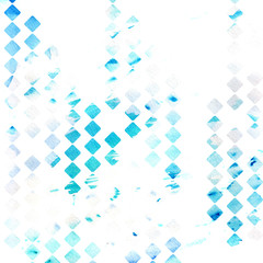 watercolour geometric pattern design, trendy background. Decoration graphic elegant texture