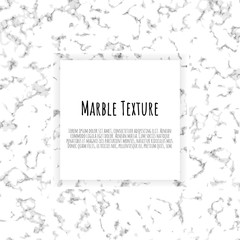 Grey, black, white marble template. Trendy pattern, graphic poster, geometric brochure, cards.