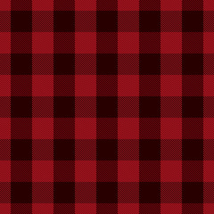 lack and red tartan vector seamless pattern background 3