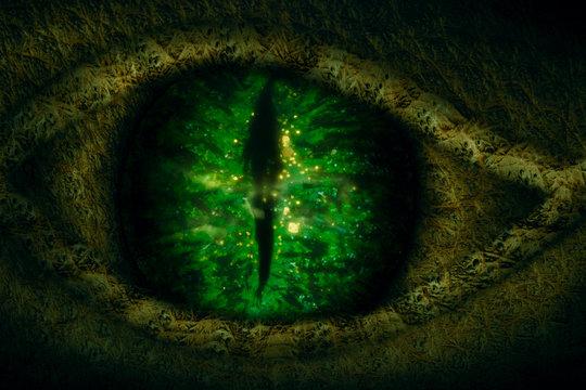 Dragon eye.