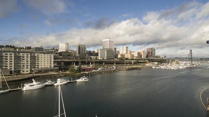 Thea Foss Waterway Supports Boat Transportation in Tacoma Washington