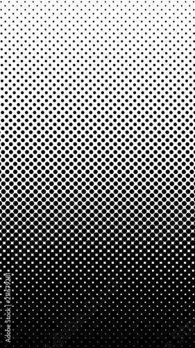Halftone gradient pattern vertical vector illustration